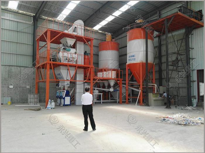 年产20万吨砂浆生产线