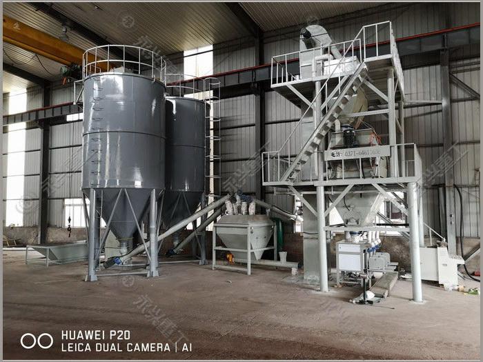特种砂浆生产线(15T/h)