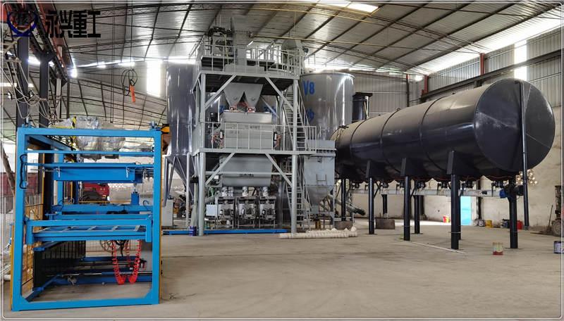 年产10万吨干粉砂浆生产线(带烘干)