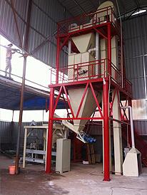 四川省泸州时为保温建材-保温砂浆生产设备