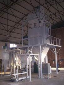 新密东风电厂保温砂浆生产线