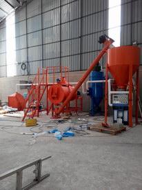 上海耀盾装饰材料(昆明分公司)-自流平砂浆生产线