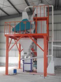 汇利涂料徐州分公司-时产5吨砂浆生产线