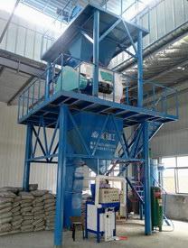 湖北汉邦建材半自动保温砂浆生产线