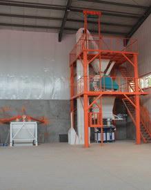 新郑东博建材年产40万吨全自动砂浆生产线