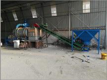 石英砂烘干机生产现场