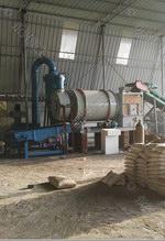 陕西安康荣达建筑时产3-5吨砂子烘干机