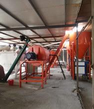 浙江杭州时产10-15吨砂浆烘干生产线