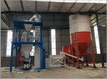自动化时产15吨砂浆生产线