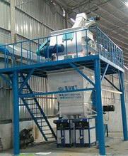 广东佛山永兰建材时产5吨砂浆生产线