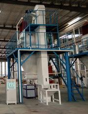 商丘兰堡湾建材砂浆生产线验收交付