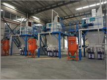 中型砂浆生产线