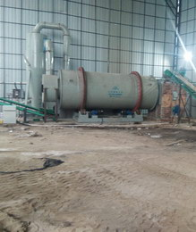 广东肇庆时产20吨砂子烘干生产线