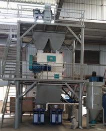 四川时为建筑时产10吨砂浆生产线