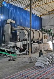 湖南岳阳时产5吨天然气砂子烘干机