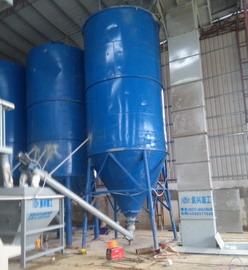 广州增城时产10吨自动化砂浆生产线