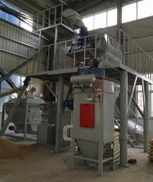 安徽六安万恒建材自动化砂浆线