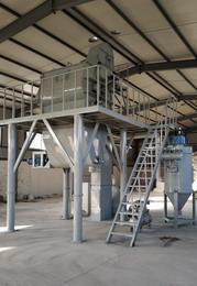 山东枣庄时产5吨砂浆添加剂生产线