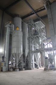 浙江建工年产30万吨干混砂浆生产线