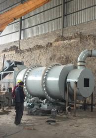 湖南益阳时产10吨砂子烘干机