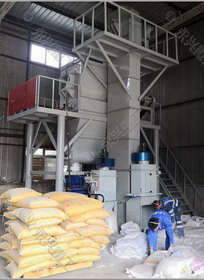 四川成都年产10万吨标线涂料生产线投产