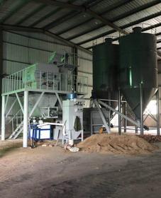 南阳5万吨特种砂浆生产线