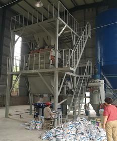 江苏泰州年产10万吨干粉砂浆线
