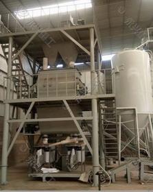 南宁时产10吨全套砂浆生产线