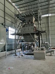 江西时产10吨砂浆生产线