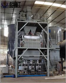 重庆恒修建材年产10万吨砂浆生产线完工投产
