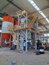 甘肃兰州金路建材年产10万吨标线涂料生产线