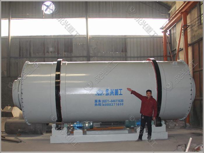 时产20吨砂子烘干机