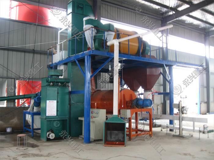 玻化微珠砂浆生产线