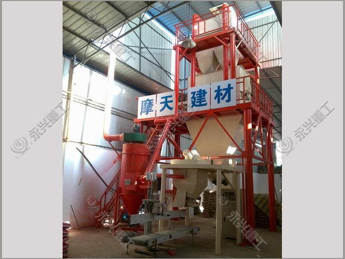 玻化微珠保温砂浆设备