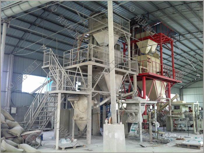 玻珠砂浆生产设备
