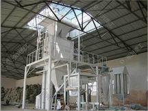 半自动保温建材生产线