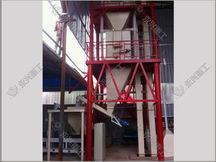 保温砂浆敞口包装生产线