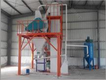 时产5吨砂浆生产线